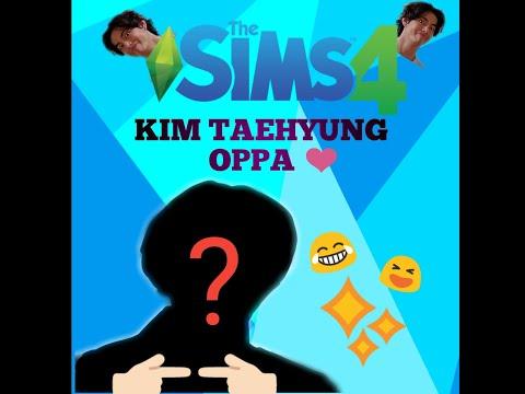 THE SIMS 4 : Creat A Sims! BTS KIM TAEHYUNG / V