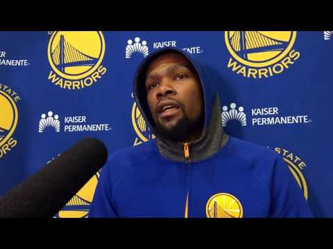 """Durant on Draymond's passion: """"You need someone to just be real…I'd rather have guys that care"""""""