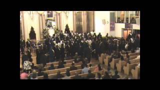 Four Gospel Choirs together (4/4) CBCF 2010 Gospel Extravaganza