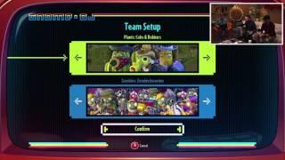 Plants vs. Zombies Garden Warfare 2 Solo Play Team Setup Options | Live From PopCap