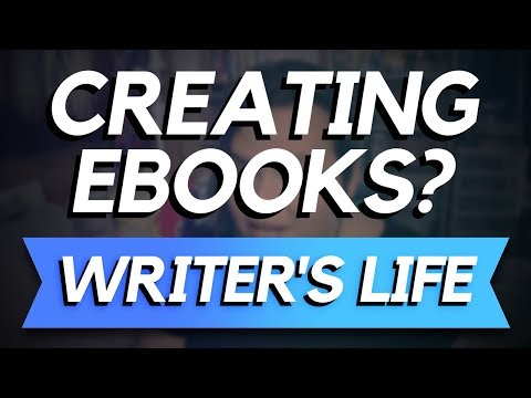 Where did I learn to make eBooks? 💙 Writer's Life Vlogs