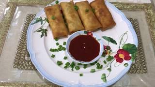 Chicken Spring Roll |  Ramadan Special Chicken Spring Rolls | Made By Seema Shaikh