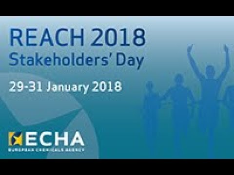 REACH 2018 Stakeholders' Day - session 1: Four months to go
