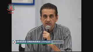 8ª Sessão Ordinária - (virtual) - 08/06/2020