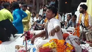 देवी आराधना एवं निमाड़ी भजन। श्री अश्विन जी यदुवंशी द्वारा ग्राम गहल में पंचम  दिवस