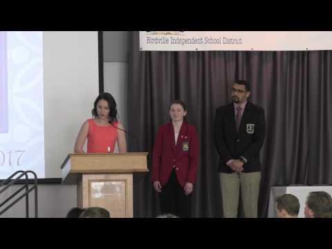 Birdville CTE  Scholarship Luncheon 2017