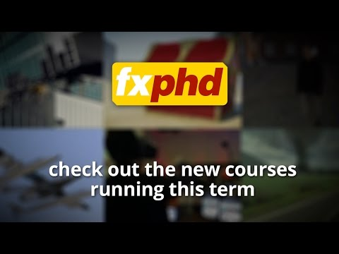 fxphd July 2015 Term Overview