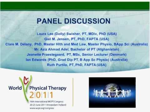 WCPT Congress - Focused symposium: Moral Action