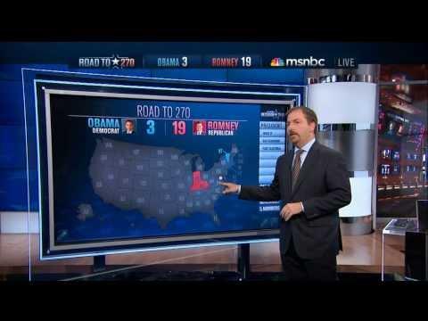 MSNBC ELECTIONS 2012 GRAPHICS