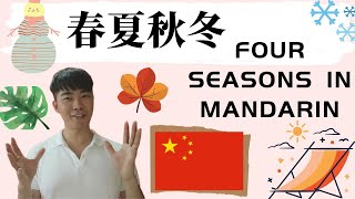 How To SAY Four Seasons In Chinese (With Sentence and Grammar Explain)