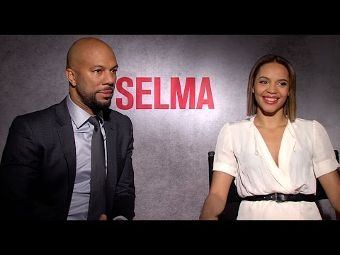Selma: Interview Carmen Ejogo and Common Talk THE PURGE 3 and More