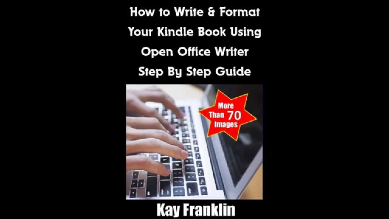 How to write a book for kindle format converter