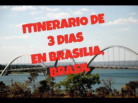 ITINERARIO DE 3 DÍAS EN BRASILIA, BRASIL( ESPAÑOL)