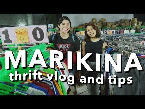 THRIFT WITH ME: MARIKINA UKAY-UKAY (Philippines)