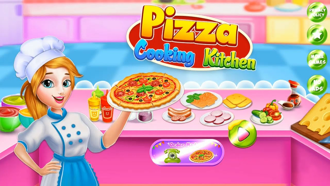 Bake Pizza Cooking Kitchen