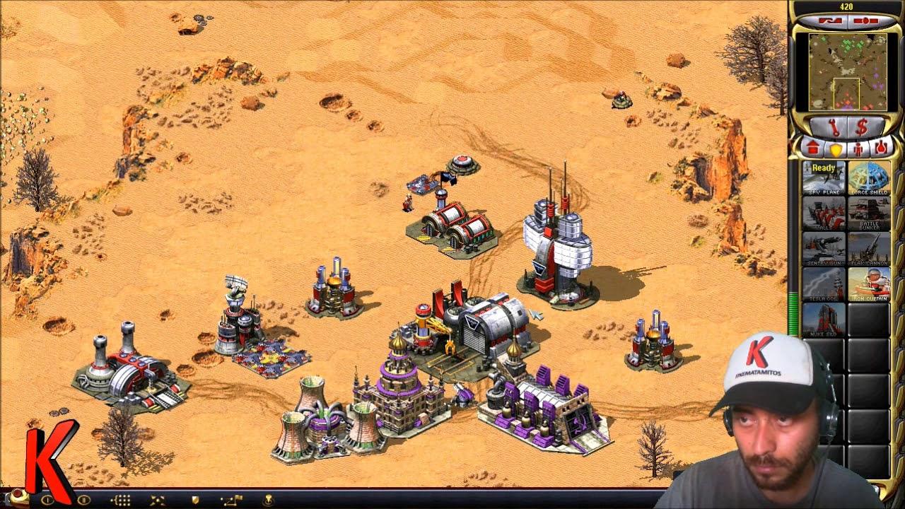 Red Alert 2 - 2 vs 2 Online Multiplayer - Dry Heat