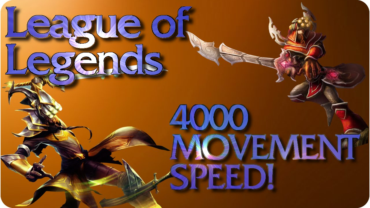 increase patch  speed league of legends