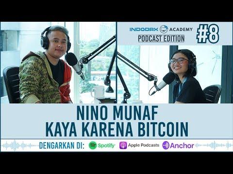 Indodax Academy: Podcast Eps 8 (Nino Munaf Kaya Dengan Bitcoin!)