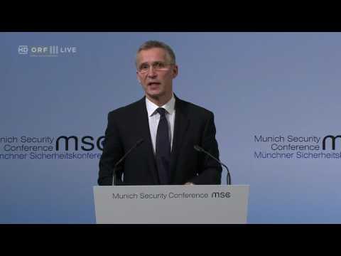 20170218 Münchner Sicherheitskonferenz NATO Generalsekretär Jens Stoltenberg 0438495966