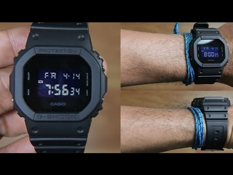 CASIO G-SHOCK DW-5600BB-1JF SPECIAL BLACK - UNBOXING
