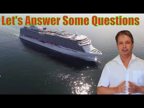 top questions asked about the group cruise on the regal Princess