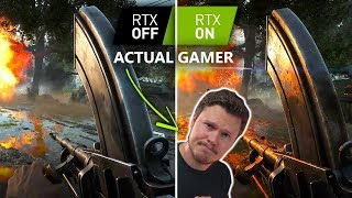 Battlefield 5 With RTX - A Gamer