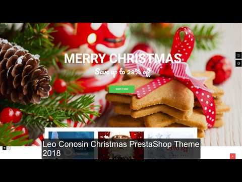 Top 10+ Best Prestashop Christmas Themes 2018 | Template For Xmas