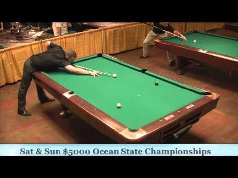 Jason Shaw Mike Dechaine 25th Annual Ocean State 9 Ball Hot Seat Match