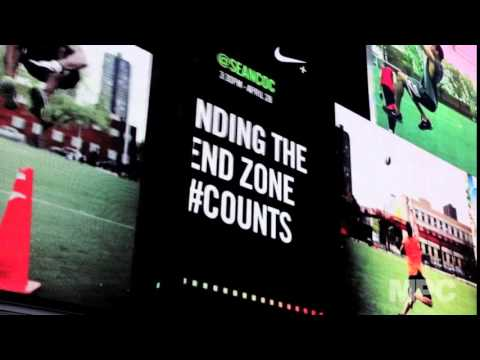 Nike Fuel Stream Times Square   Moving Picture Company
