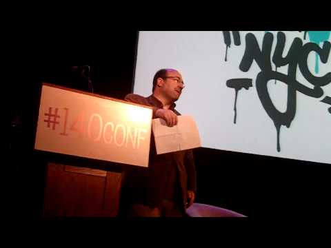 Craig Newmark of Craig's List: Contribute & Give - Make Your Mark Online #140Conf