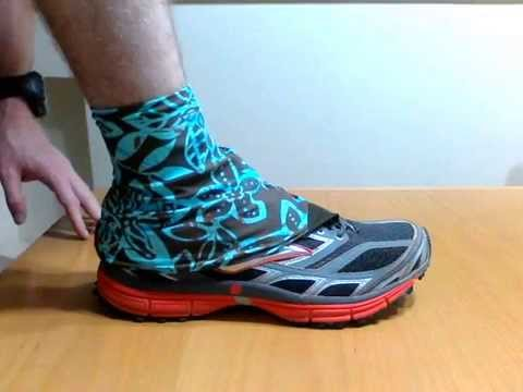 How To Make Running Shoe Gaiters