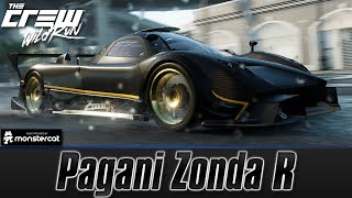 The Crew Wild Run: Pagani Zonda R (Zonda F Circuit Spec) [Customization + Test Drive]
