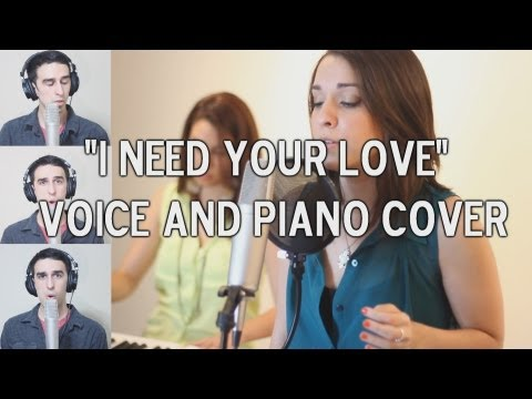 Calvin Harris ft Ellie Goulding - I Need Your Love (Cover ft Astrid, Aurora)