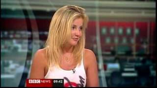 Helen Skelton talks about crossing the Amazon (BBC News, 06.03.10)