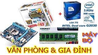 Hướng dẫn cách lắp ráp máy bộ vi tính giá rẻ, Main H61, CPU G2030, Ram 4GB phù hợp với gia đình thumbnail