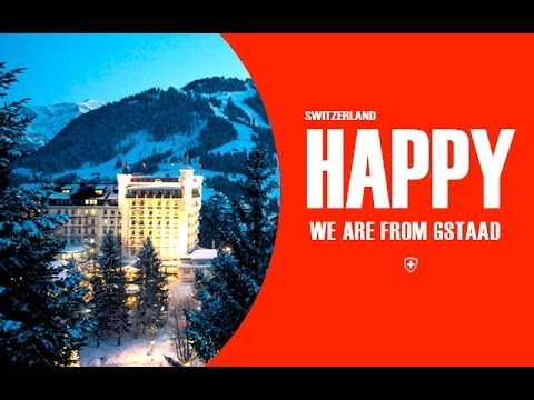We are Happy from Gstaad Suisse - Pharrell's Williams