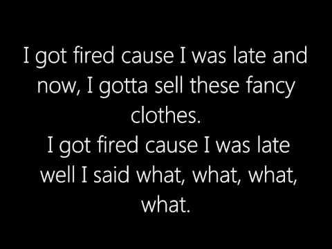 AronChupa - Fired Cuz I Was Late - Lyrics [HD]