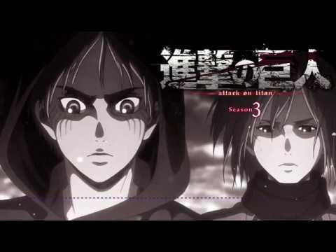 Attack On Titan Season 3 OST - HuManity Or TiTans? [3Tv] By Hiroyuki Sawano (English And German Sub)