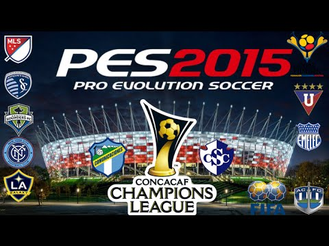 Pes 2015 Fox Patch V4  Concacaf Champios League , Mls 2015 y Copa Pilsener De Ecuador