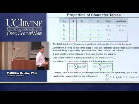 Chemistry 107. Inorganic Chemistry. Lecture 04