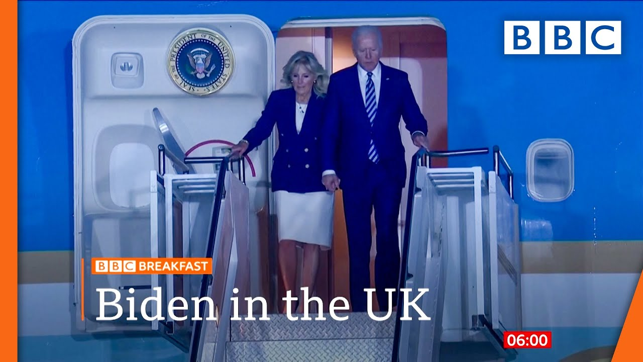 Download Biden warns Putin as he opens foreign trip in UK @BBC News live 🔴 BBC