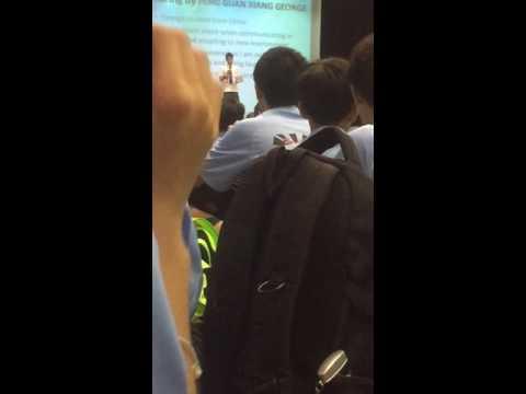 Springfield Secondary School Study experience sharing talk