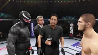 Venom vs. Khabib Nurmagomedov (EA sports UFC 2) - CPU vs. CPU