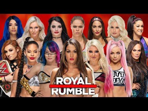 WWE 30 Women's Royal Rumble 2020 Full Match | WWE 2K20 Royal Rumble