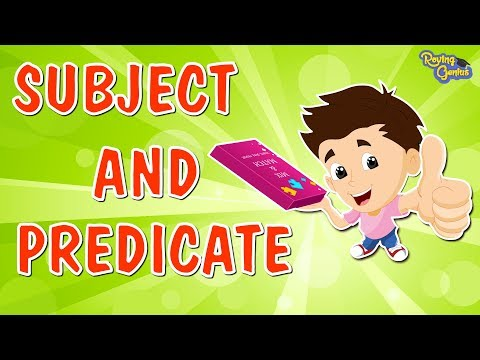Can't Stop the Grammar! (Subjects and Predicates, Adjectives, and Adverbs) from YouTube · Duration:  4 minutes 4 seconds