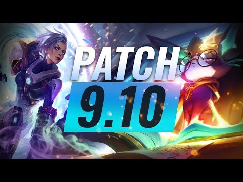 Best Champions TIER List – League of Legends Patch 910