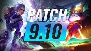 Best Champions TIER List – League of Legends Patch 9.10