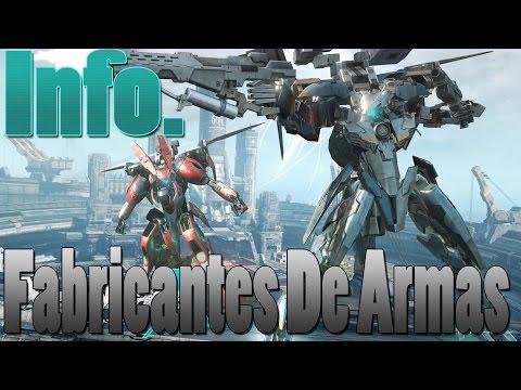 [Xenoblade Chronicles X] [Info.] Fabricantes de Armas - Español