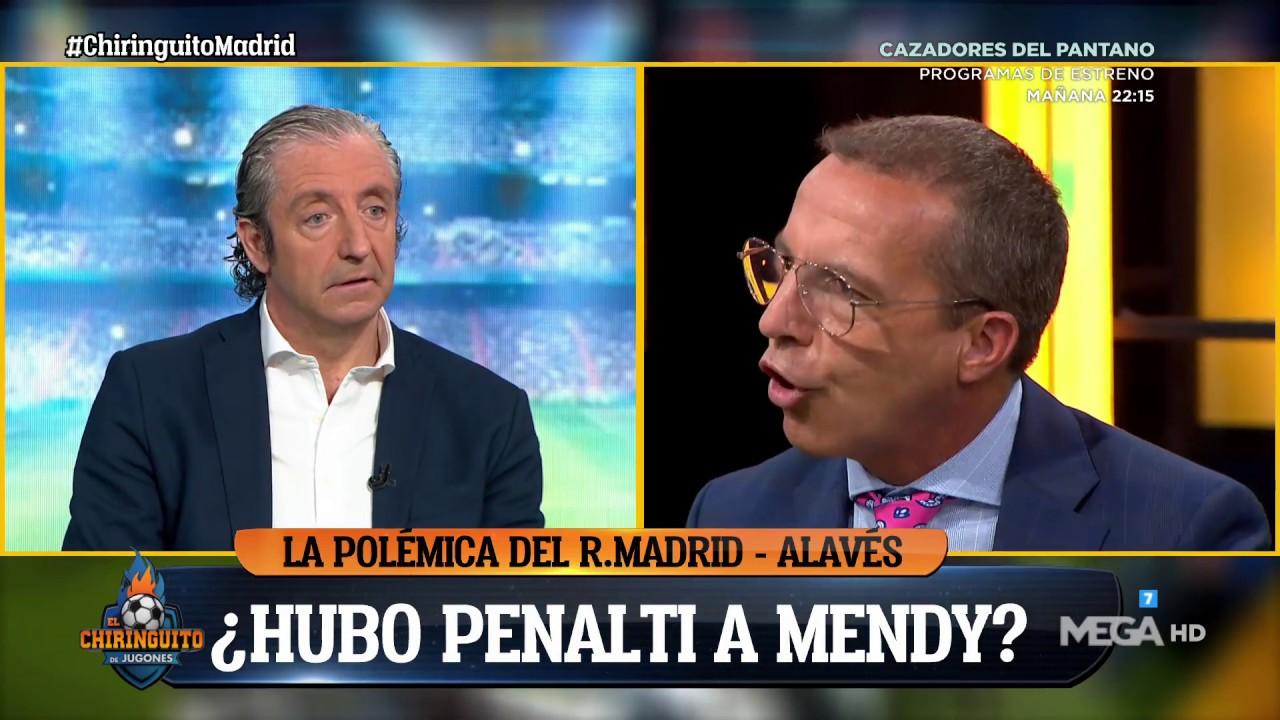SORIA aparece en EL CHIRINGUITO con un CÁRTEL contra el MADRID