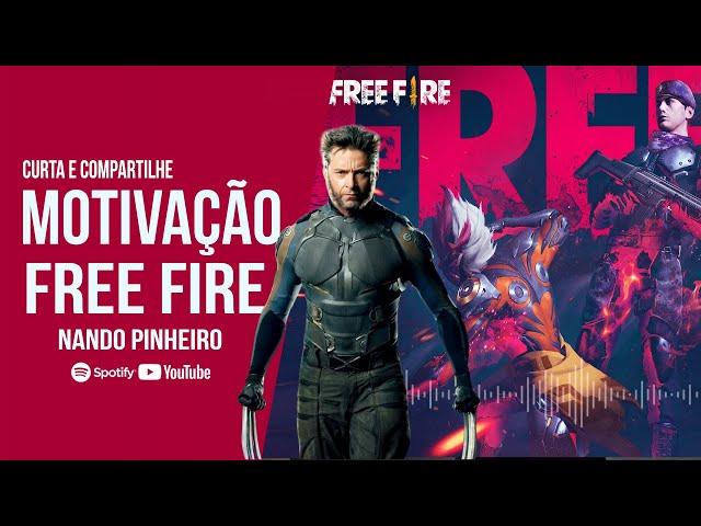 MOTIVAÇÃO FREE FIRE - A VOZ OFICIAL DO JOGO ( Video motivacional )